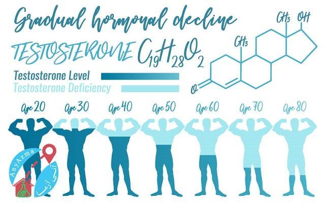 همه چیز در مورد آزمایش هورمون های مردانه
